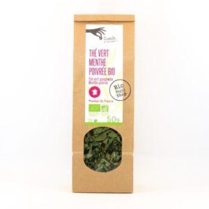 the vert menthe poivree bio