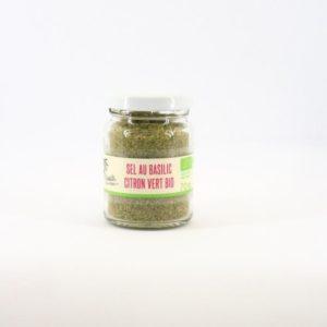 sel au basilic citron vert bio