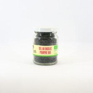 sel basilic pourpre bio
