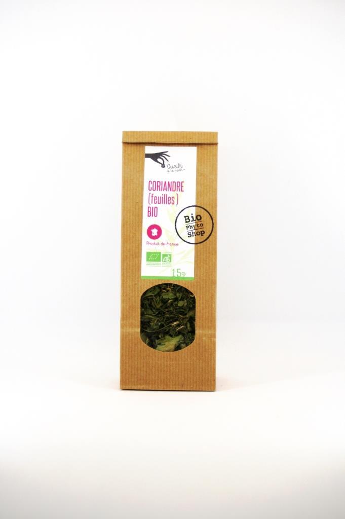 coriandre feuilles bio