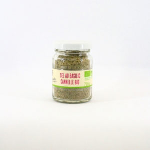 sel au basilic cannelle bio