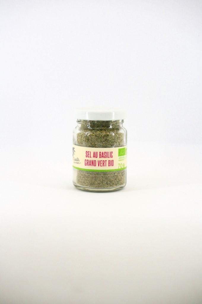 sel au basilic grand vert