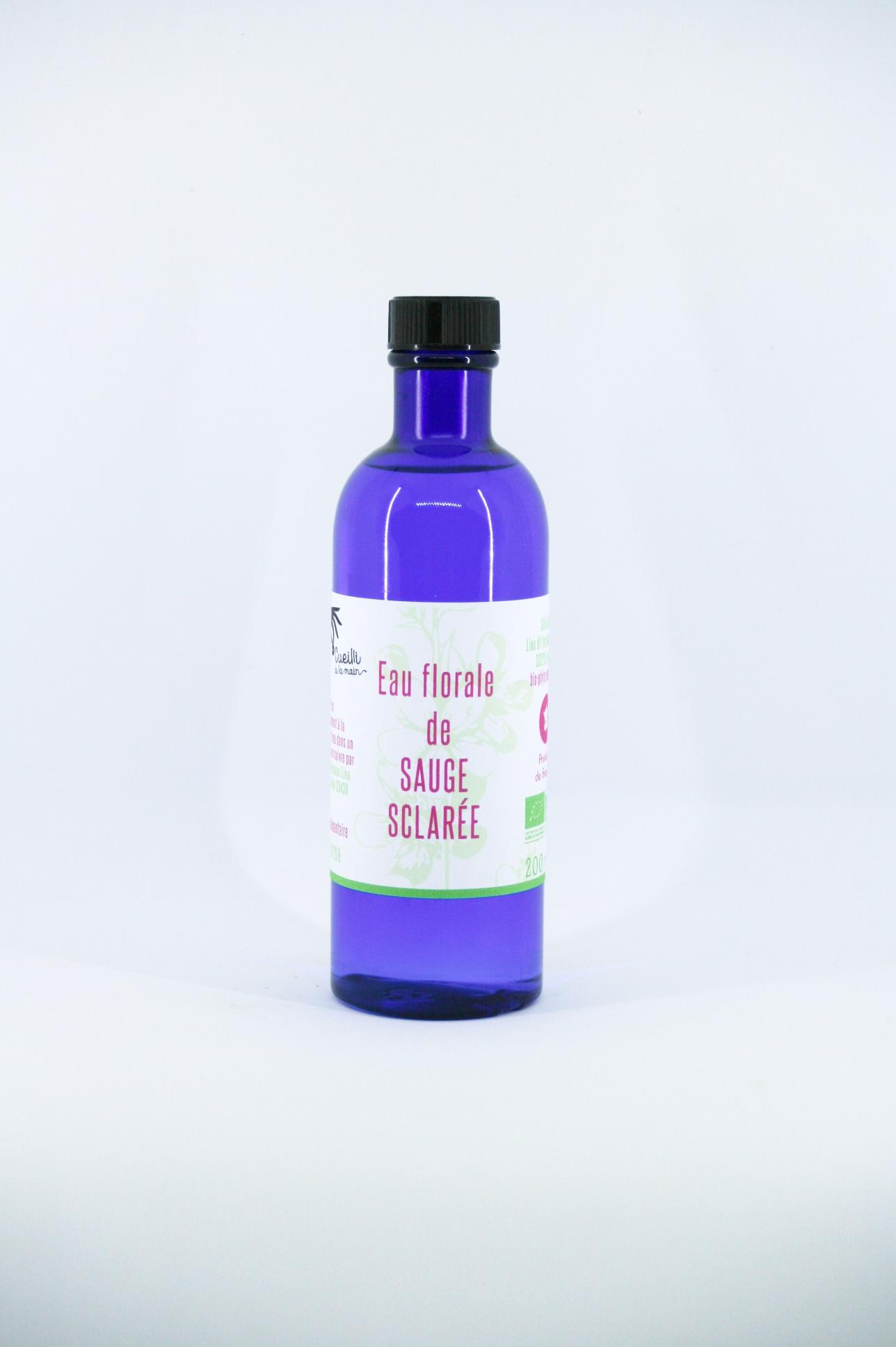 eau florale sauge sclaree bio