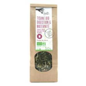 tisane bio digestion maternite