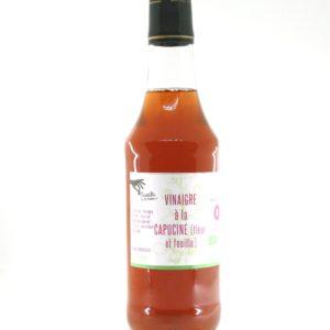 vinaigre cidre aromatise capucine bio